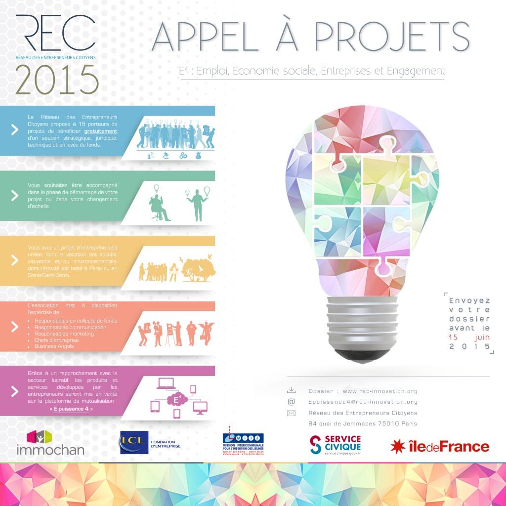 Appel A¦Ç Projets - REC 2